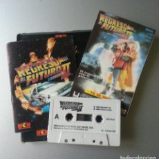 Videojuegos y Consolas: REGRESO AL FUTURO PARTE II 1990 MICROSOFT SPECTRUM CASSETTE SEC 790. Lote 86619444