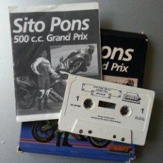 Videojuegos y Consolas: SPECTRUM CASSETTE SITO PONS 500 CC GRAND PRIX ZIGURAT. Lote 86624420