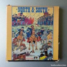 Videojuegos y Consolas: SPECTRUM SE 1147 NORTH & SOUTH ERBE INFOGRAMES SONY 1991 DOS CASSETTE. Lote 86626272