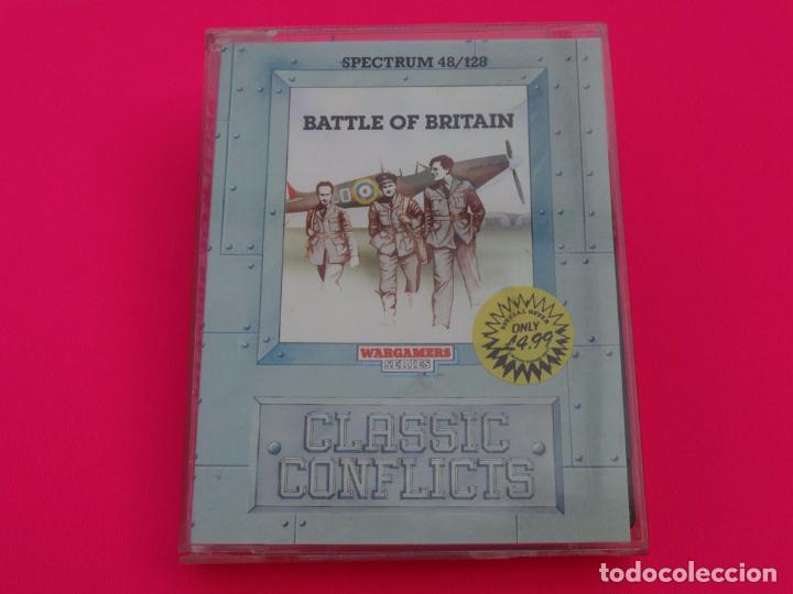 BATTLE OF BRITAIN LA BATALLA DE INGLATERRA SPECTRUM (Juguetes - Videojuegos y Consolas - Spectrum)
