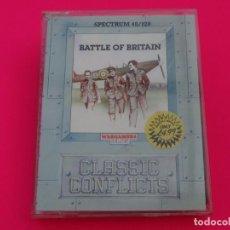 Videojuegos y Consolas: BATTLE OF BRITAIN LA BATALLA DE INGLATERRA SPECTRUM. Lote 86757724