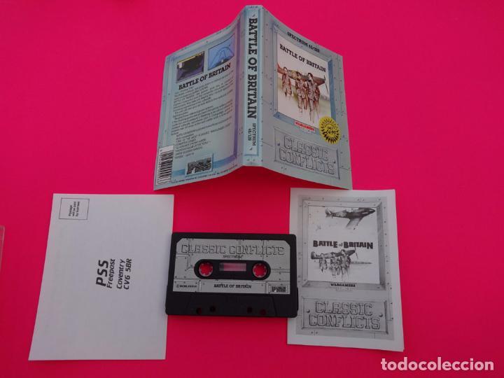 Videojuegos y Consolas: BATTLE OF BRITAIN LA BATALLA DE INGLATERRA SPECTRUM - Foto 2 - 86757724