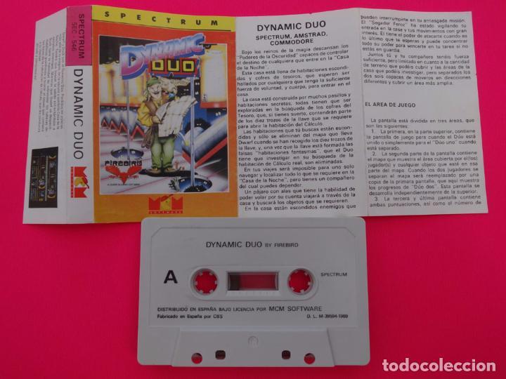 Videojuegos y Consolas: DYNAMIC DUO DINAMIC DUO SPECTRUM - Foto 2 - 86758268