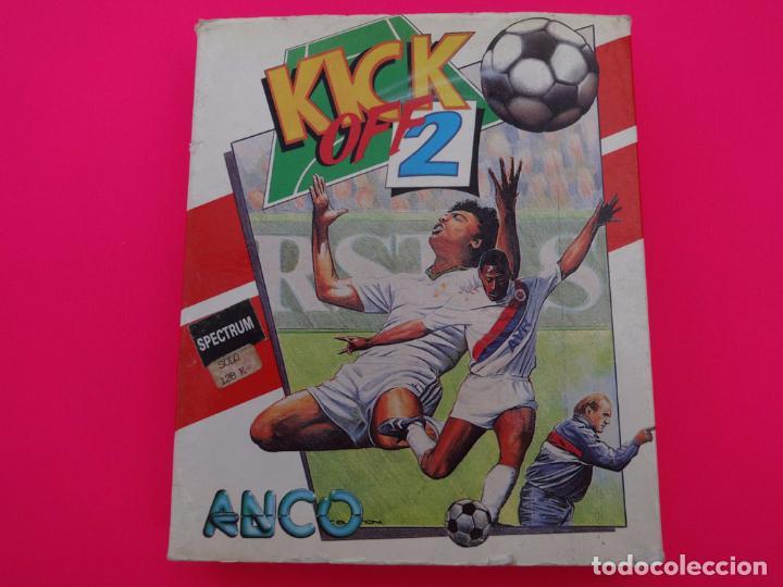 KICK OFF 2 SPECTRUM (Juguetes - Videojuegos y Consolas - Spectrum)