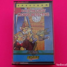 Videojuegos y Consolas: BASIL THE GREAT MOUSE DETECTIVE SPECTRUM. Lote 86763336