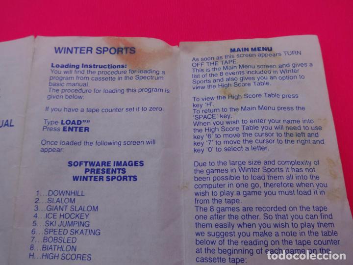 Videojuegos y Consolas: WINTER SPORTS SPECTRUM - Foto 5 - 86763420