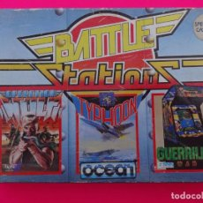 Videojuegos y Consolas: PACK BATTLE STATIONS OPERATION WOLF TYPHOON GUERRILLA WAR SPECTRUM. Lote 86763608
