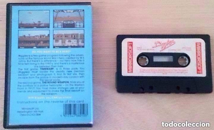 Videojuegos y Consolas: Biggles / Juego Spectrum Cinta / Mirrorsoft 1986 - Foto 2 - 86828500