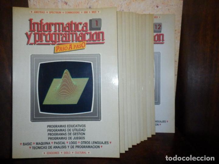 Videojuegos y Consolas: Informática paso a paso - 12 números del 1 al 12 - Basic - Spectrum . Z80 - Pascal - Ediciones Siglo - Foto 2 - 86976596