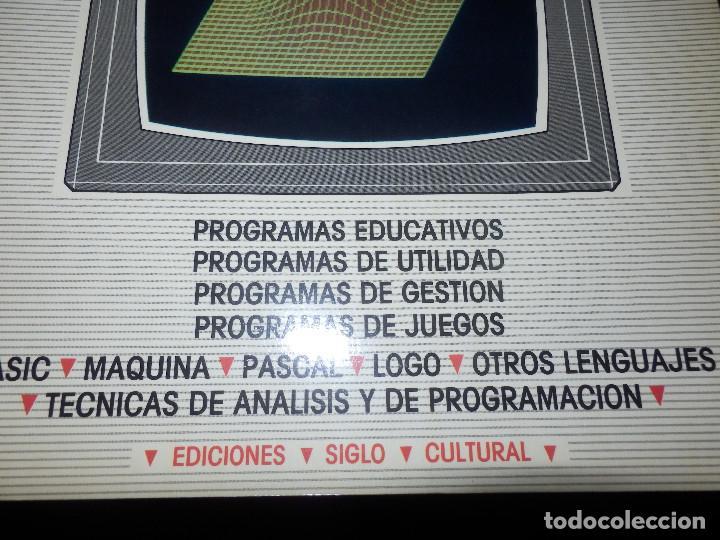 Videojuegos y Consolas: Informática paso a paso - 12 números del 1 al 12 - Basic - Spectrum . Z80 - Pascal - Ediciones Siglo - Foto 3 - 86976596