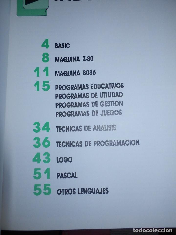 Videojuegos y Consolas: Informática paso a paso - 12 números del 1 al 12 - Basic - Spectrum . Z80 - Pascal - Ediciones Siglo - Foto 4 - 86976596