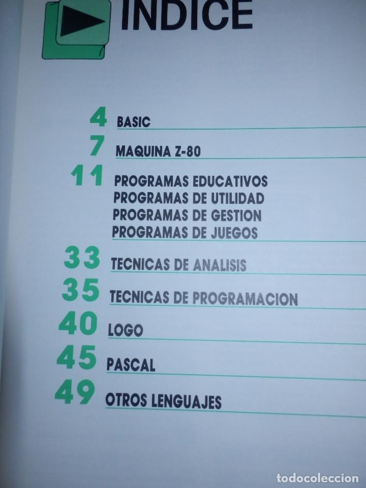 Videojuegos y Consolas: Informática paso a paso - 12 números del 1 al 12 - Basic - Spectrum . Z80 - Pascal - Ediciones Siglo - Foto 10 - 86976596