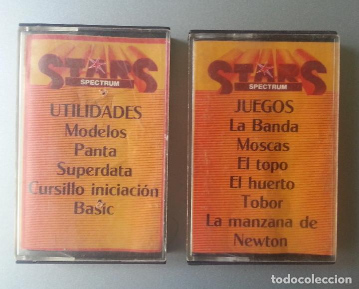 4 STARS SPECTRUM DOS CASSETTE JUEGOS Y UTILIDADES (Juguetes - Videojuegos y Consolas - Spectrum)