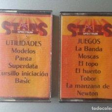 Videojuegos y Consolas: 4 STARS SPECTRUM DOS CASSETTE JUEGOS Y UTILIDADES. Lote 87117828