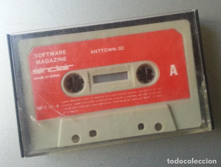 Videojuegos y Consolas: ESPECTRUM CASSETTE ANTTOWN 3D MAGAZINE SINCLAIR Nº C - 2 - A SIN CARATULA - Foto 3 - 87136208