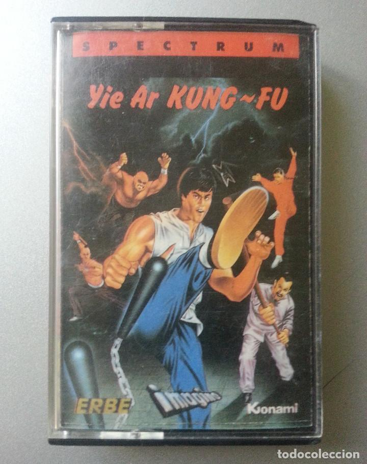 YIE AR KUNG - FU SPECTRUM CASSETTE ERBE SOFTWARE (Juguetes - Videojuegos y Consolas - Spectrum)