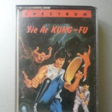 Videojuegos y Consolas: YIE AR KUNG - FU SPECTRUM CASSETTE ERBE SOFTWARE. Lote 87298112