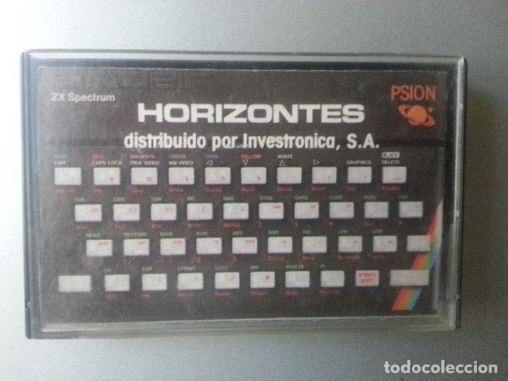 HORIZONTES INVESTRONICA SINCLAIR ZX SPECTRUM CASSETTE 1982 (Juguetes - Videojuegos y Consolas - Spectrum)
