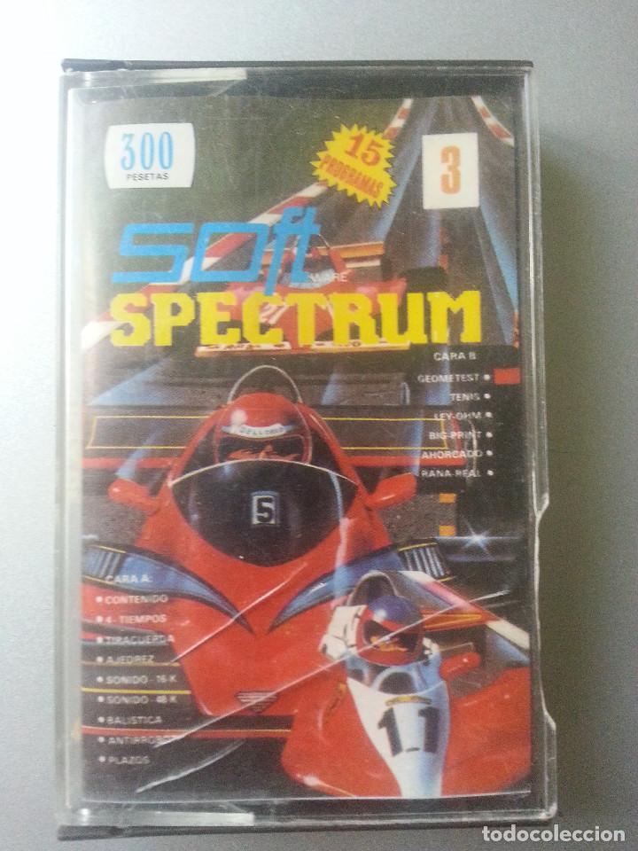 JUEGOS CASSETTE SOFT REVISTA DE ESPECTRUM Nº 3 (Juguetes - Videojuegos y Consolas - Spectrum)
