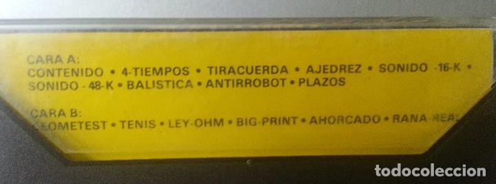Videojuegos y Consolas: JUEGOS CASSETTE SOFT REVISTA DE ESPECTRUM Nº 3 - Foto 2 - 87479268