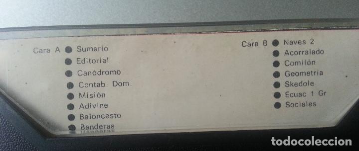 Videojuegos y Consolas: REVISTA DE SOFTWARE VIDEOSPECTRUM Nº 6 - 15 PROGRAMAS SPECTRUM CASSETTE 1985 - Foto 3 - 87480120