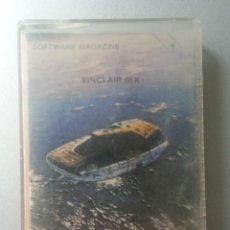 Videojuegos y Consolas: AGUASKI AGUASKI CASSETTE SPECTRUM SOFTWARE MAGAZINE 54 1985. Lote 88754396