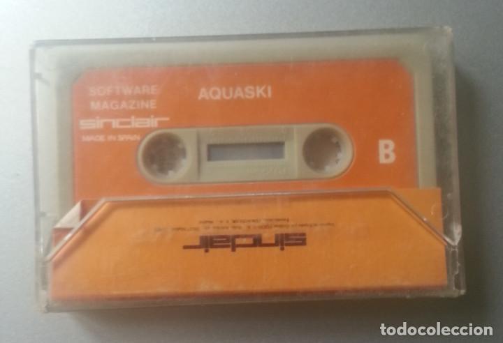 Videojuegos y Consolas: AGUASKI AGUASKI CASSETTE SPECTRUM SOFTWARE MAGAZINE 54 1985 - Foto 2 - 88754396