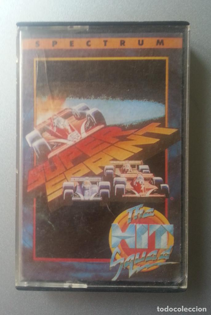 Videojuegos y Consolas: SUPER SPRINT THE HIT SQUAT SPECTRUM CASSETTE ERBE 1990 - Foto 1 - 88754900