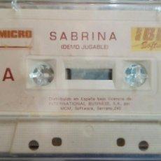 Videojuegos y Consolas: SABRINA DEMO JUGABLE Y OTROS MAS SPECTRUM VER CARA B. Lote 88838959