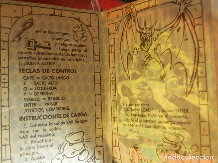 Videojuegos y Consolas: JUEGO ZX SPECTRUM Y COMPATIBLES - PHANTOMAS - DINAMIC - 1986 - Foto 3 - 88931656
