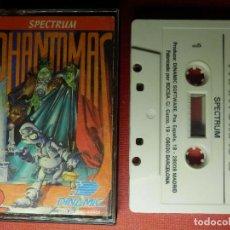 Videojuegos y Consolas: JUEGO ZX SPECTRUM Y COMPATIBLES - PHANTOMAS 2 - DINAMIC - 1986. Lote 88931956