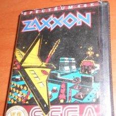 Videojuegos y Consolas: JUEGO SEGA SPECTRUM 48K ZAXXON, 1983. Lote 91488365