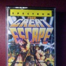 Videojuegos y Consolas: JUEGO ZX SPECTRUM Y COMPATIBLES - THE GREAT SCAPE - ERBE SOFWARE - 1986. Lote 92076465