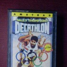 Videojuegos y Consolas: JUEGO AMSTRAD Y COMPATIBLES - DECATHLON - ERBE - 1985. Lote 92165805