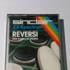 Videojuegos y Consolas: JUEGO SPECTRUM REVERSI. Lote 93125810