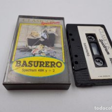 Jeux Vidéo et Consoles: JUEGO CASSETTE BASURERO 48K +2 SINCLAIR ZX SPECTRUM.COMBINO ENVIO. Lote 94209025