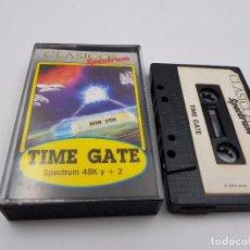 Jeux Vidéo et Consoles: JUEGO CASSETTE TIME GATE 48K +2 SINCLAIR ZX SPECTRUM.COMBINO ENVIO. Lote 94209120
