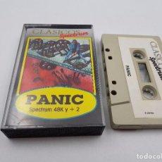 Jeux Vidéo et Consoles: JUEGO CASSETTE EL PANIC 48K +2 SINCLAIR ZX SPECTRUM.COMBINO ENVIO. Lote 94209305