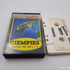Jeux Vidéo et Consoles: JUEGO CASSETTE CIEMPIES 48K +2 SINCLAIR ZX SPECTRUM.COMBINO ENVIO. Lote 94209480