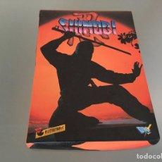 Videojuegos y Consolas: JUEGO SHINOBI SPECTRUM. EDICIÓN ESPAÑOLA. CASSETTE. CASETE. AÑOS 80.. Lote 94835451
