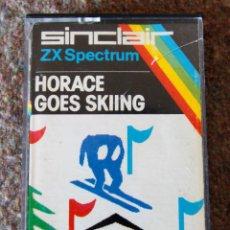 Videojuegos y Consolas: JUEGO 48 K SINCLAIR ZX SPECTRUM - HORACE GOES SKIING - AÑO 1982. Lote 95187343