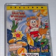 Videojuegos y Consolas: SUPER WONDER BOY IN MONSTER LAND [ACTIVISION] 1989 MCM / ERBE SOFTWARE [ZX SPECTRUM]. Lote 95227563