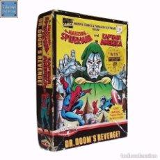 Videojuegos y Consolas: THE AMAZING SPIDERMAN & CAPITAN AMERICA / DR. DOOM'S REVENGE / SPECTRUM CINTA / MARVEL 1989. Lote 95364991
