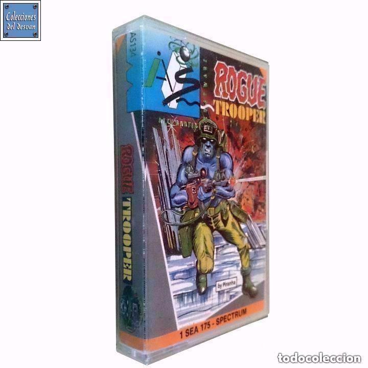 ROGUE TROOPER / JUEGO SPECTRUM CINTA / SYSTEM 4 1988 (Juguetes - Videojuegos y Consolas - Spectrum)