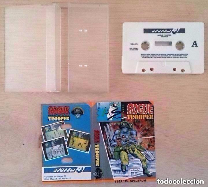 Videojuegos y Consolas: Rogue Trooper / Juego Spectrum Cinta / System 4 1988 - Foto 2 - 95365131