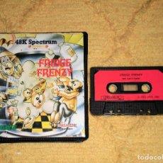 Videojuegos y Consolas: SINCLAIR ZX SPECTRUM 48K - FRIDGE FRENZY (BUG-BYTE) EDITADO POR PREMIUM SOFTWARE. Lote 95963299