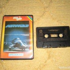 Videojuegos y Consolas: SINCLAIR ZX SPECTRUM 48K - AIRWOLF (ELITE / ZAFICHIP) . Lote 95964287
