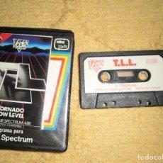 Videojuegos y Consolas: SINCLAIR ZX SPECTRUM 48K - T.L.L. (VORTEX) EDICIÓN EN ESTUCHE POR ABC SOFT. Lote 95964591