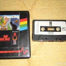 Videojuegos y Consolas: SINCLAIR ZX SPECTRUM 48K - PUNCHY (MR MICRO) EDICIÓN EN ESTUCHE POR ABC SOFT/INVESTRÓNICA. Lote 95964727