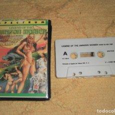 Videojuegos y Consolas: SINCLAIR ZX SPECTRUM 48K - LEGEND OF AMAZON WOMEN (U.S. GOLD) ESTUCHE ERBE - DIFÍCIL DE ENCONTRAR. Lote 95965267